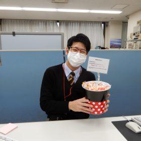 お菓子サービス ホワイトデイバージョン?